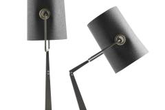 Foscarini Fork bordslampa grå