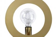 Pholc Round bordslampa i mässing