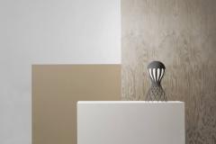 Oblure Cirrata, grå bordslampa