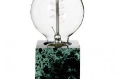 Pholc Tiny bordslampa i  grön marmor