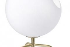 Pholc Bug bordslampa i opalglas och mässing