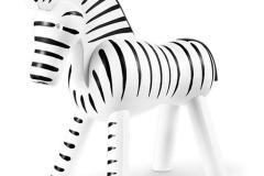 kajbojesen-Zebra-Svart-och-Vit-14-CM