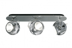 fabbian-Beluga-3-clear-Wall_-Ceiling-