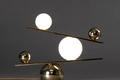 Oblure Balance mässing, bordslampa